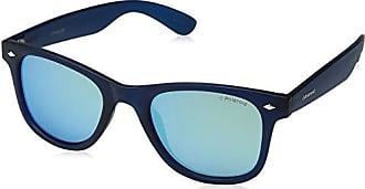 Polaroid Pld 6003/N Z7, Montures de Lunettes Mixte Adulte, Bleu (Havana Blue/Bluette Sf Polar), 54