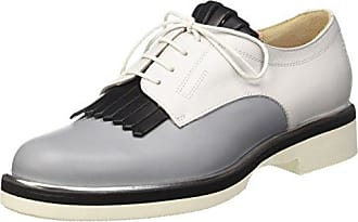 Pollini M.Shoe, Zapatos de Cordones Brogue para Hombre, Azul (Jeans 707), 44 EU