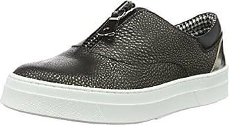Pollini Shoes, Chaussures Bateau Femme, Gris (Grey 90B) 40 EU