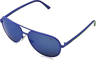 POLO 0PH3102 931855, Montures de Lunettes Homme, Bleu (Matte Royal Blue/Mirrorbluee), 59