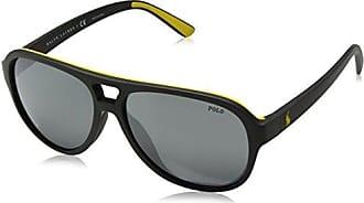 Polo Ralph Lauren Herren Sonnenbrille 0Ph3111 933081, Grau (Demiglos Grey), 59