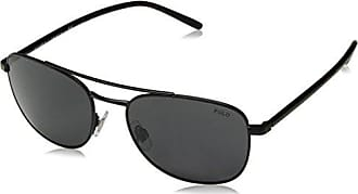 Ralph Lauren Damen Sonnenbrille 0RL7054Q 900311, Schwarz (Shiny Black/Gradientgrey), 59