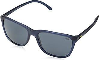 Polo Ralph Lauren Herren Sonnenbrille 0Ph4126 528487, Schwarz (Black/Grey), 54