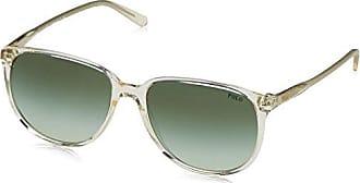 Prada Damen 0PR13SS UEZ4K1 54 Sonnenbrille, Grün (Spotted Brown Green/Green Grey)