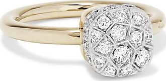 Recarlo Ring for Women, Yellow Gold, 18 Kt Yellow Gold, 2017, USA 7 ( I 15 - GB N 1/2)