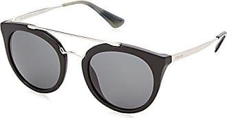 Prada Damen Sonnenbrille 0PR23SS 1AB1A1, Schwarz (Black/Grey), 52