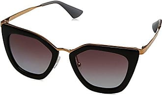 Prada Damen Sonnenbrille 0PR53SS UAO6O2, Weiß (White Havana/Violet), 52