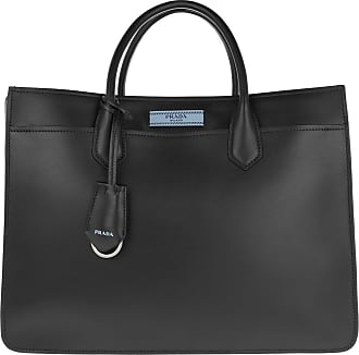 Tote - Borsa A Mano Dual Tote Leather Pomice/Argilla - grey - Tote for ladies Prada gW0q8
