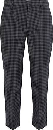 Pants for Men On Sale in Outlet, Bleu, Virgin wool, 2017, 34 Prada