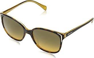 Prada Damen Sonnenbrille 0PR59SS USA5D1, Braun (Silver/Brown/Grey), 54