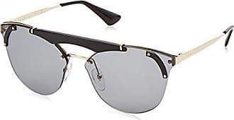 PRADA Prada Damen Sonnenbrille » PR 52US«, silberfarben, C135R0 - silber/silber