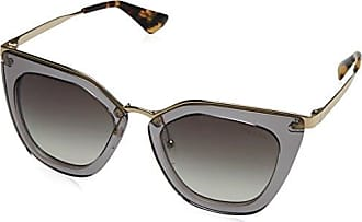 Prada Damen Sonnenbrille 0PR17SS UFV3C2, Grau (Grey/Grey), 53
