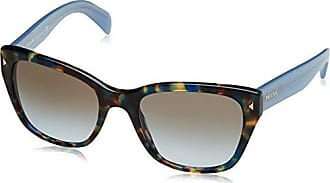 PRADA Prada Damen Sonnenbrille » PR 52US«, goldfarben, I8N5S0 - gold/grau
