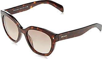 Prada Damen Sonnenbrille 0PR09TS VAM4J1, Orange (Orange/Green), 54