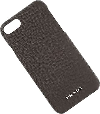 iPad On Sale in Outlet, I Pad Case, Black, Saffiano Leather, 2017, One size Prada