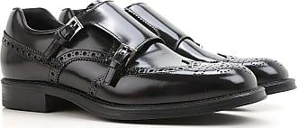 Loafers for Men On Sale, Black, Brushed Leather, 2017, 5.5 6 6.5 7 8 Prada