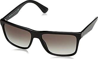 Prada Herren Sonnenbrille 0PR09US 1AB0A7, Schwarz (Black/Grey), 55