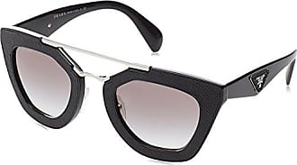 Prada Damen 0PR17OS 1AB0A7 54 Sonnenbrille, Schwarz (Black/Gray)