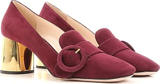 Pumps & High Heels for Women On Sale, granade, Velvet, 2017, 2.5 4 4.5 5.5 6.5 Prada