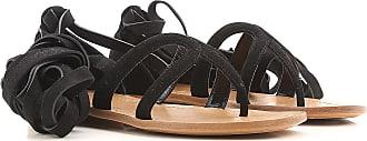 Zapatos de Mujer Baratos en Rebajas Outlet, Celeste, Gamuza, 2017, 36 Prada