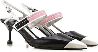 Sandalen für Damen Günstig im Sale, Schwarz, Leder, 2017, 39 39.5 40 Prada