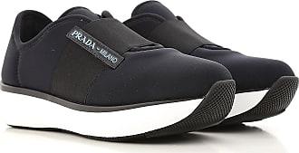 Sneaker für Damen, Tennisschuh, Turnschuh, Schwarz, Neopren, 2017, 36 36.5 37.5 38 38.5 39 39.5 40 Prada