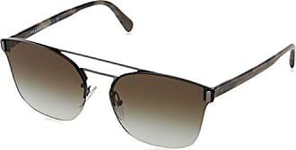Prada Herren Sonnenbrille 0PR67TS 5AV0A7, Grau (Gunmetal/Grey), 63