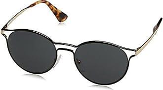 Prada Damen Sonnenbrille 0PR62SS ZVN1C0, Gold (Pale Gold/Light Brown Gold), 53