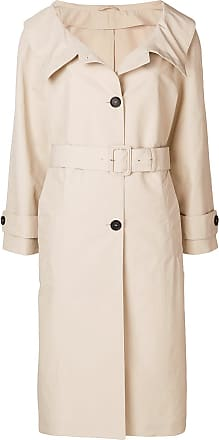 fur-cuff coat - Nude & Neutrals Prada Latest Collections Low Shipping Fee Cheap Online Ebay Sale Online Cheap Sale 2018 Newest AulTSOK