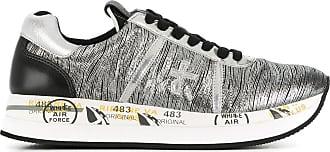Sneakers for Women On Sale, Silver, Paillette, 2017, 2.5 3.5 4.5 5.5 7.5 8.5 Premiata