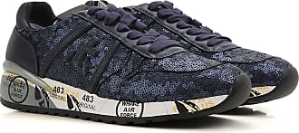 Sneakers for Women On Sale, Grey, Suede leather, 2017, 3.5 4.5 5.5 6.5 7.5 8.5 Premiata