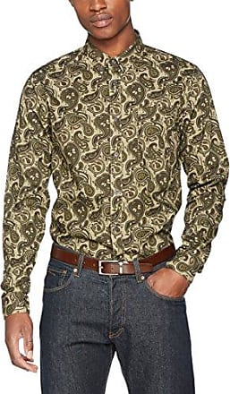 Mens Freeman Long Sleeve Slim Fit Casual Shirt Pretty Green Factory Outlet For Sale Cheap With Credit Card Cost Buy Cheap Get To Buy IpgdX7Om