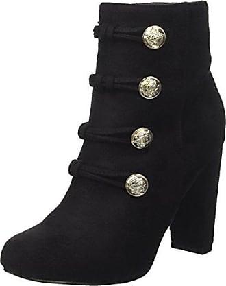 102480691MF, Mocassins (Loafers) Femme, Noir (Nero), 37 EUPrima Donna