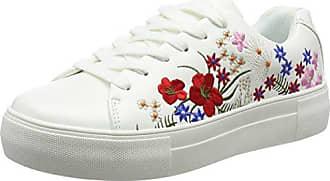 112618501EP, Zapatillas para Mujer, Bianco, 36 EU Prima Donna