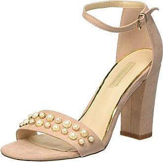 Sandalo, Sandalias con Tira de T para Mujer, Marrón (Beig 112760821EPBEIG), 37 EU Prima Donna