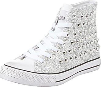 Sneakers, Zapatillas para Mujer, Plateado (ARGE 112618506GLARGE), 37 EU Prima Donna
