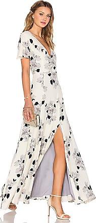 Anastasia V Neck Maxi Dress in Fuchsia. - size L (also in M,S,XS,XXS) by the way.