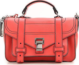 Proenza Schouler Messenger Bag for Women On Sale, Geranium, Leather, 2017, one size