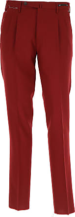 Pants for Men On Sale, wine red, Cotton, 2017, 32 34 36 38 PT01
