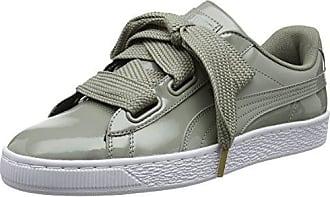 Puma Basket Heart Patent Damen Sneaker 39 EU rock ridge 7rVKl