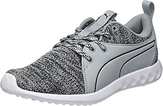 Puma Carson Knitted, Chaussures de Running Compétition Homme, Gris (Quarry White 03), 48.5 EU