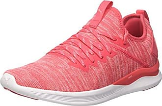 Ignite Flash Evoknit Wns, Zapatillas de Cross para Mujer, Rosa (Paradise Pink-Soft Fluo Peach), 42.5 EU Puma