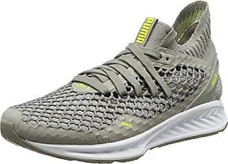 Fieldsprint NL - Chaussures de Course - Mixte Adulte - Gris (LimestoneGris/White/Nasturtium) - 40 EU (6.5 UK)Puma Z39ykHa9Rk