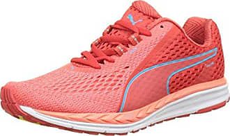 Womens Speed 500 Ignite 2 Multisport Outdoor Shoes, Rouge Flash/Bleu Turquoise Puma