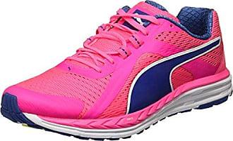 Puma Speed 100 R Ignite, Chaussures de Running Compétition Homme, Rose (Bright Plasma-True Blue White 04), 42 EU