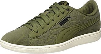 Puma Damen Vikky Platform Sneaker, Grün (Olive Night-Rapture Rose), 37 EU