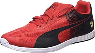 Puma - Evospeed low sf zapatilla/zapato para hombre estilo con cordones, talla 5 uk, color rojo