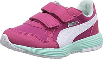 Puma Unisex-Kinder Flexracer PS Sneakers, Pink (Beetroot Purplewhite 02), 32 EU