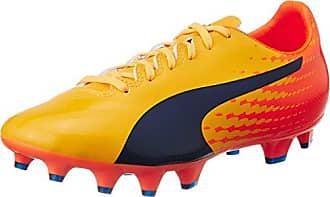 Puma Evospeed 4.5 Fh, Chaussures de Football Homme, Jaune (Safety Yellow Black-Green Gecko 04), 40.5 EU