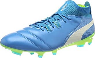 Puma Evospeed Sala 3.4, Chaussures de Futsal Homme - Bleu - Blau (Atomic Blue-Safety Yellow-Safety Yellow 11), 42 EU